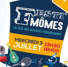 Lire la suite : Festi'Mômes : fête des activités périscolaires