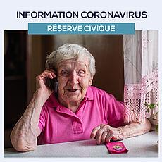 Lire la suite : Coronavirus Covid-19 : Rejoignez la réserve civique