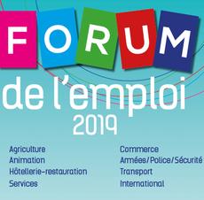 Lire la suite : Forum de l'Emploi le 20 mars